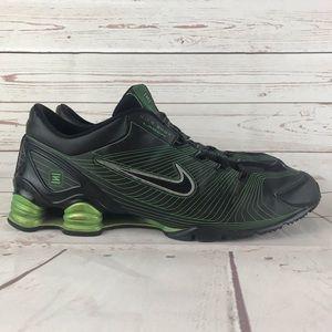 Nike Shox Laser Explodine Black/Green Shoes Sz 14